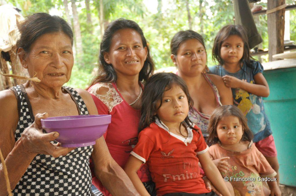 famille de shaman, Lagunas, Pérou