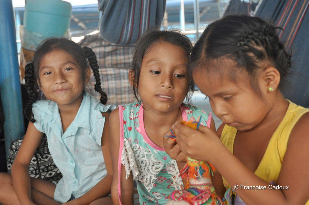 sur bateau vers Iquitos, Pérou