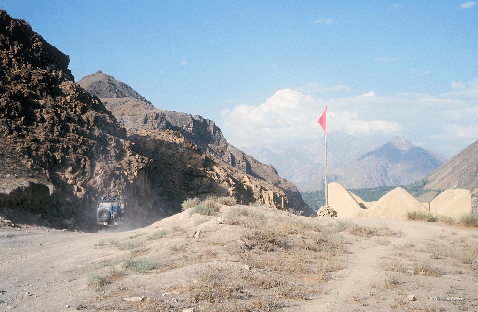 2Route vers Drasan, Hindou Kouch, Pakistan