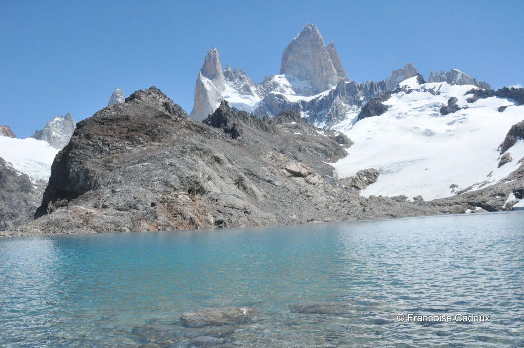 laguna de los tres, Fitz Roy 3405m, Patagonie