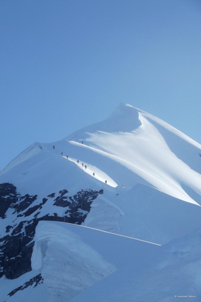 Mt Tetnuldi 4.858m, Svanétie, Géorgie