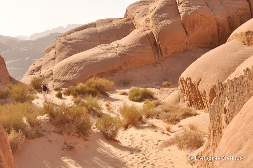 Désert du Wadi Rum, Jordanie