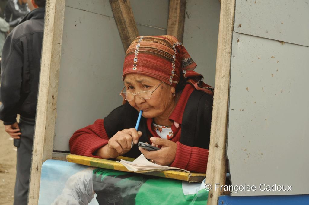 sur le marché de Karakol, Kirghizstan