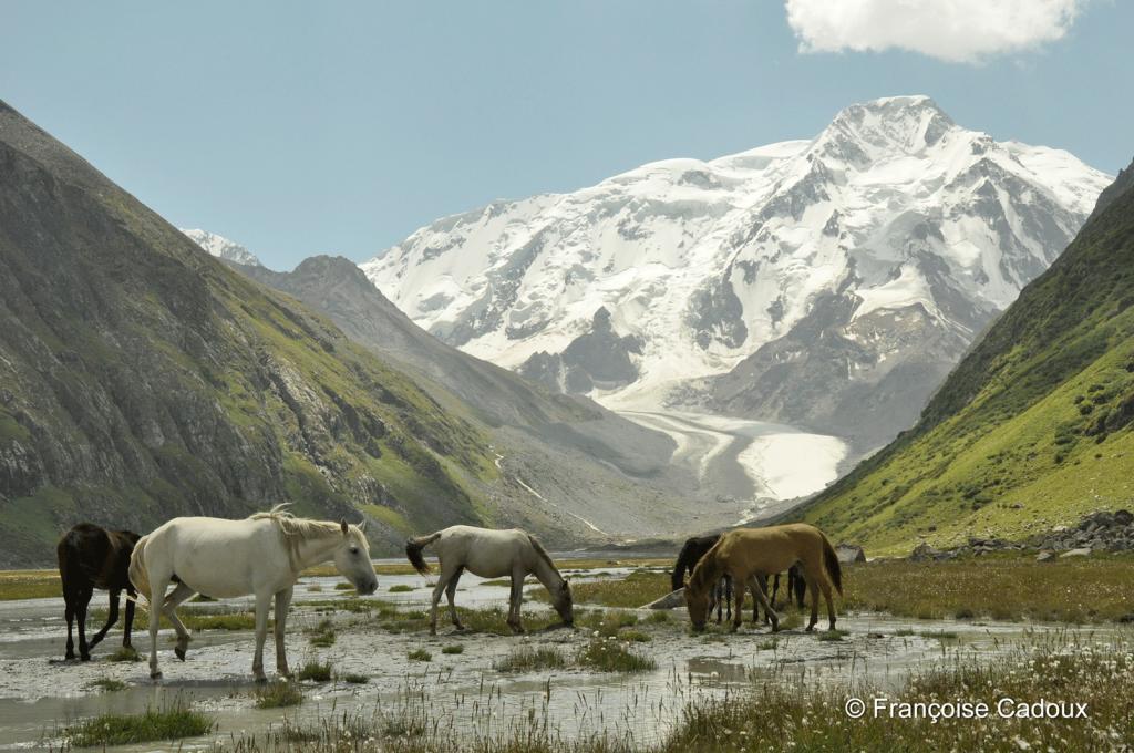 Mt Karakol 5.280m, Tien Shan, Kirghizstan