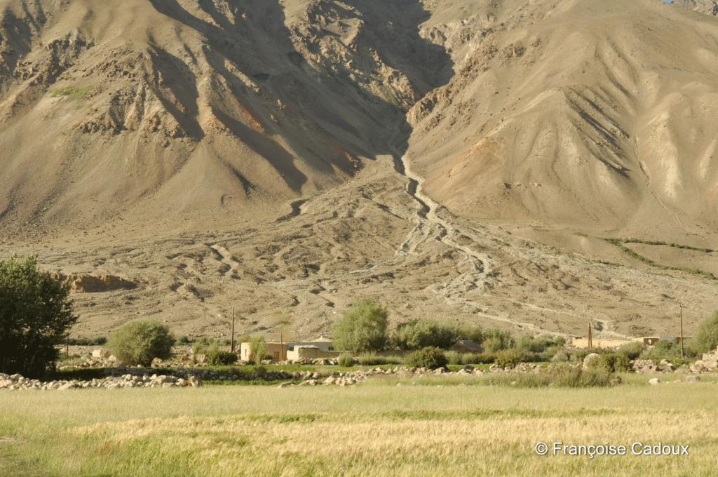 Village de Vankala, Gorno Badachstan, Pamir, Tadjikistan