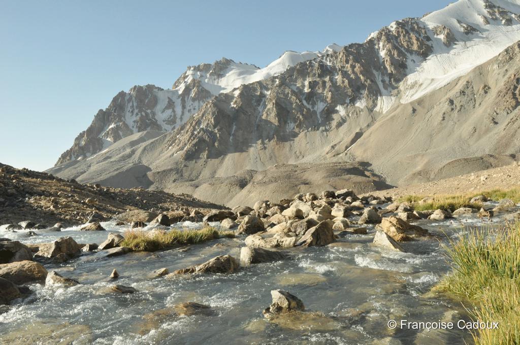 Entre le lac Zarukshul et le lac Chapdara, Pamir, Gorno Badachstan