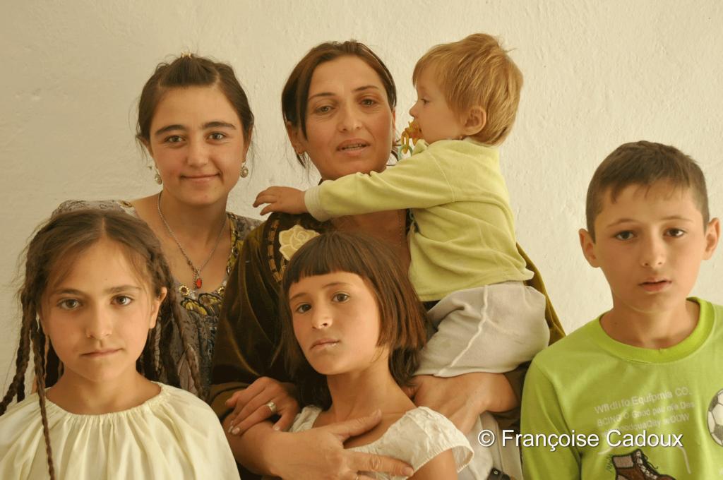 à Ishkashim, Tadjikistan, à la frontière de l'Afghanistan